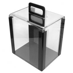 Acrylic poker chip carrier 1000 chip capacity