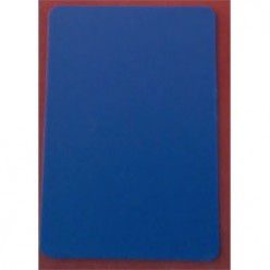 Cut card poker size blue color
