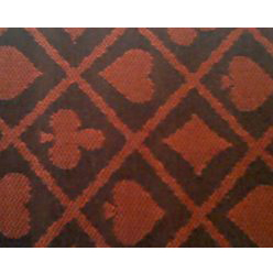 two tone suited poker cloth burgundy