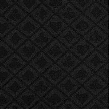 suited poker cloth black