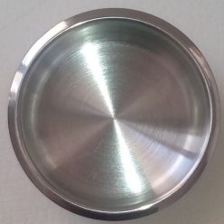 cup holder shallow stainless steel
