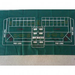 cheap craps layout felt