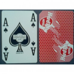 Hard rock casino playing cards red back