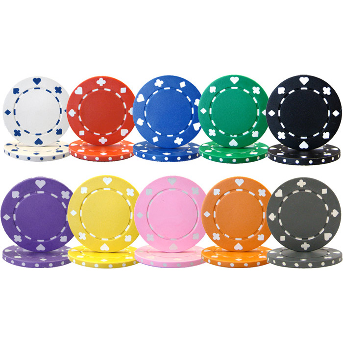 Poker Chips Without Denomination