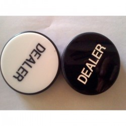 Poker Buttons and Pucks