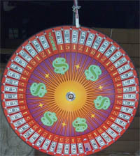 money prize wheel