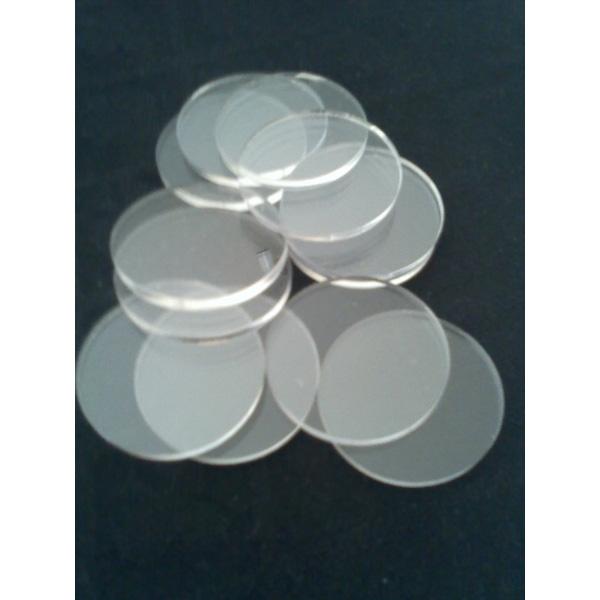 Acrylic poker chip spacers
