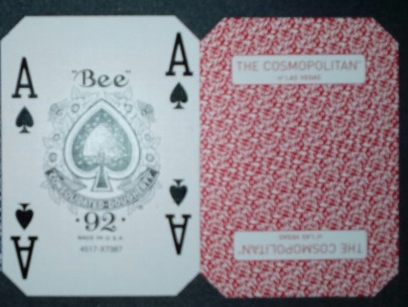casino playing cards cosmopolitian